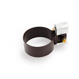 Металлическая обойма для дюбеля Galeco ПВХ 90/50 50 мм темно-коричневая