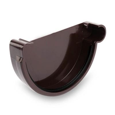 Заглушка правая Galeco ПВХ 90/50 темно-коричневая