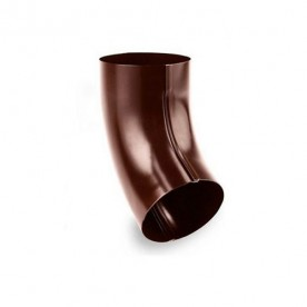 Колено Galeco STAL 120/90 60° шоколадно-коричневое