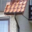 Внутренний угол с креплением Galeco STAL 120/90 90° темно-коричневый