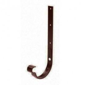 Металлический кронштейн длинный усиленный Galeco STAL 120/90 темно-коричневый