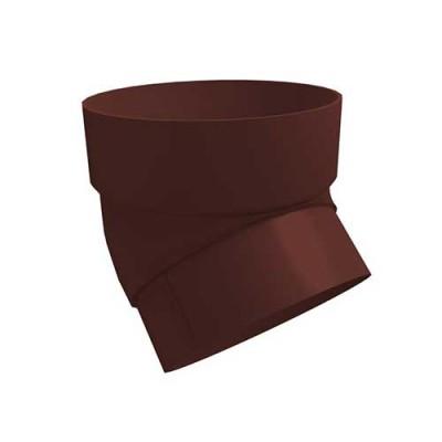 Колено трубы Grand Line Standart 45° шоколадное
