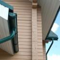Угол желоба универсальный Grand Line Standart 90-150° зеленый