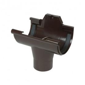 Воронка обычная Nicoll LG25 коричневая (резиновое уплотнение)