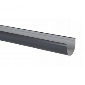 Желоб Nicoll LG25 4 м темно-серый