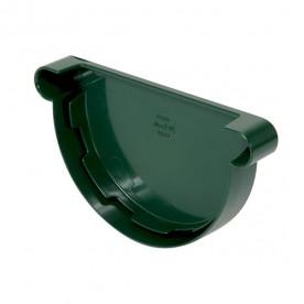 Заглушка желоба универсальная Nicoll LG25 зеленая