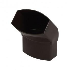Отвод Nicoll LG28 45° коричневый