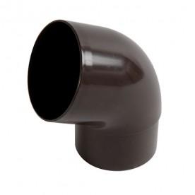 Отвод универсальный Nicoll LG29 67° коричневый, d=100