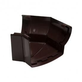 Угол жёлоба внешний Nicoll LG29 135° коричневый