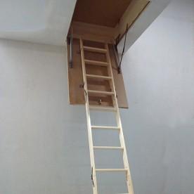 Чердачные лестницы СтройПартнер деревянные 1300х600