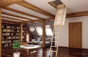 Чердачные лестницы СтройПартнер Деревянные