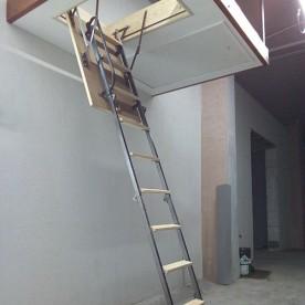 Чердачные лестницы СтройПартнер металлические 850х700