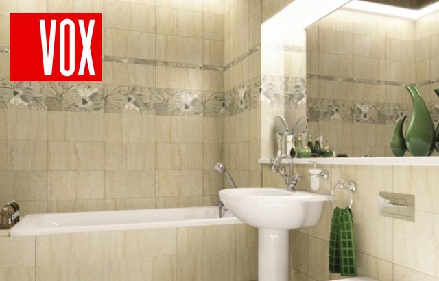 Панели ПВХ VOX в ванной
